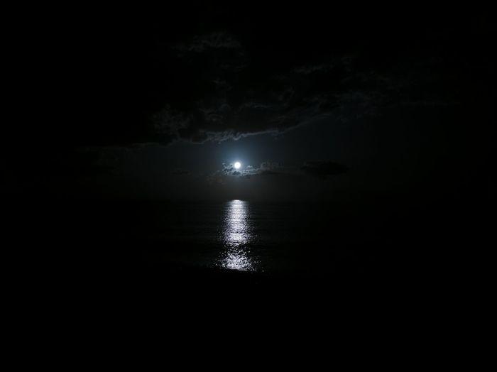 Water Sea Black