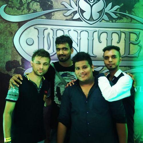Tomorrowland Unite  Insaneparty Edm Fun ArminVanBurren Mumbai Friends Event