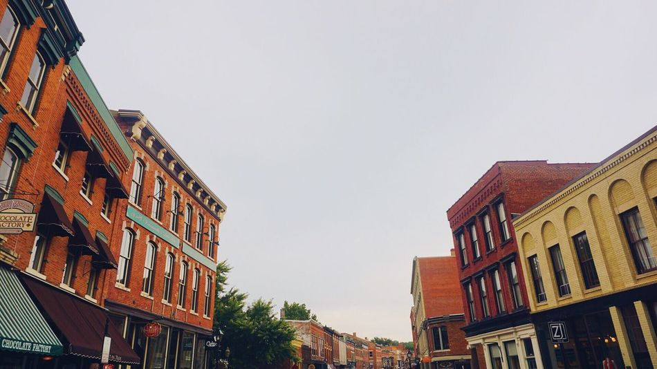Architecture Clear Sky Old Town Downtown Galena Old Buildings Old House Traveling Travel Vacation Galena Galena, Illinois Old Town Sony A6000 Old But Awesome