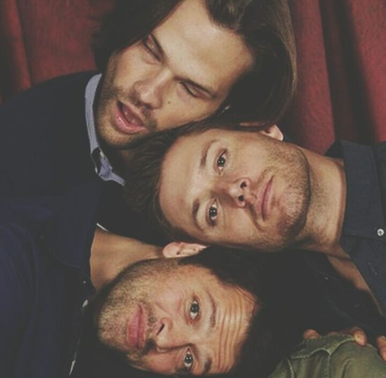 I love the boys ??❤ Sammy♡ Dean❤ Misha❤ Supernatural