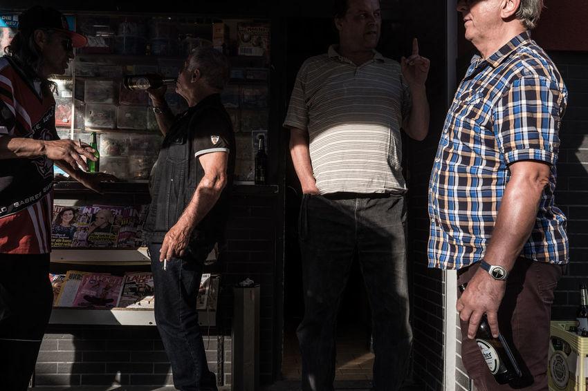 Kiosk Offenbach Am Main Adult Germany Men People Portrait Standing Street Streetphotography
