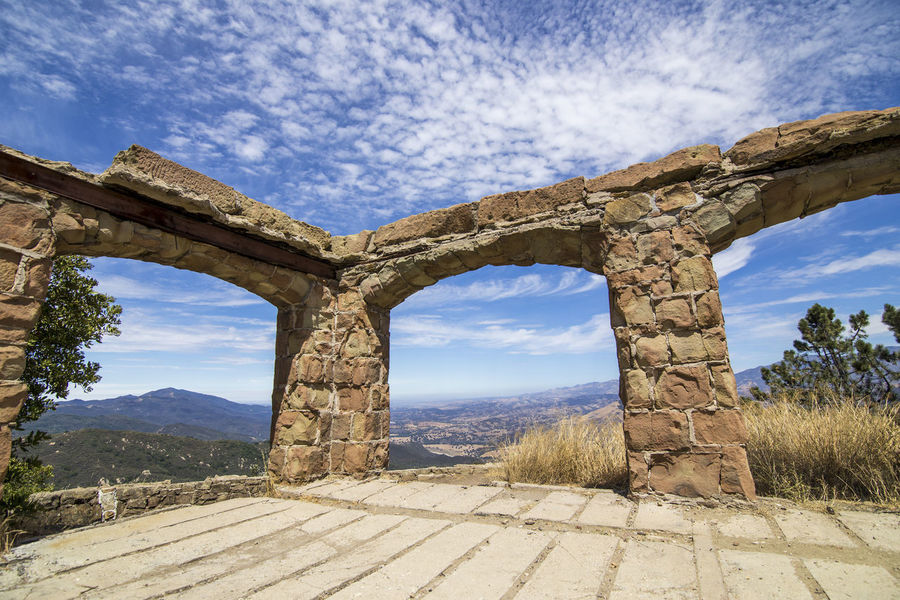 Knapp's Castle ruins Knapp's Castle Architecture Beauty In Nature Cloud - Sky Day Landscape Mountain Mountain Range Nature No People Old Ruin Outdoors Santa Ynez Valley Scenics Sky Sunlight Tranquility Tree