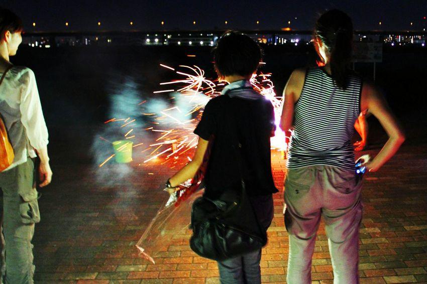 Snapshots Of Life Tokyo Fireworks
