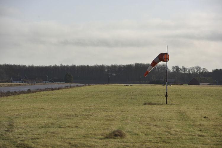 Airplane Cessna General Aviation Landing Aircraft Pilot Wind Windsock Windsocks