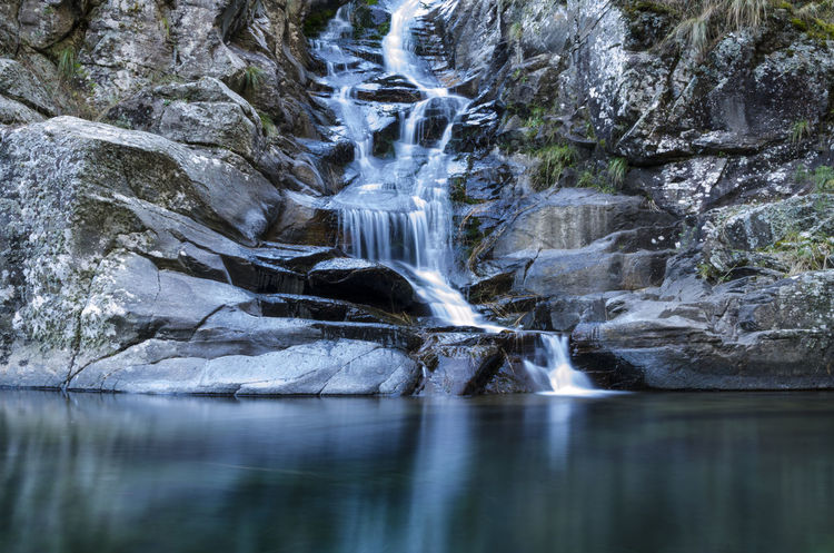 Beauty In Nature Day Flowing Flowing Water Idyllic Majestic Motion Nature No People Outdoors Power In Nature Remote River Rock - Object Rock Formation Scenics Tranquil Scene Tranquility Water Waterfall Waterfront