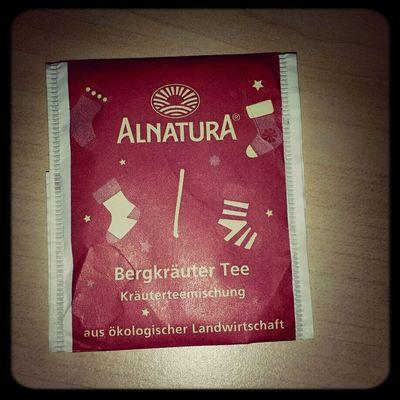 Mein Adventskalender von Gestern.Saulecker! ^^ Tea ALNATURA