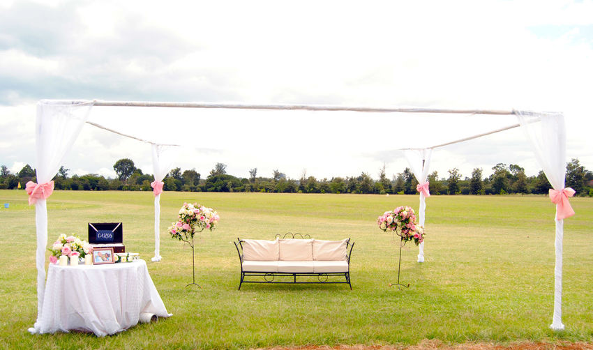 Wedding Reception Decoration Field Nature Beautiful Memories Beautiful Setup EyeEmNewHere