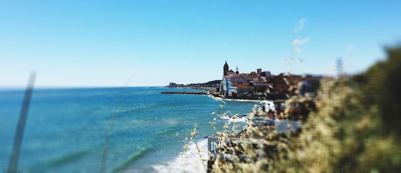 Viento de levante Sitges Barcelona España Sitges Beach First Eyeem Photo