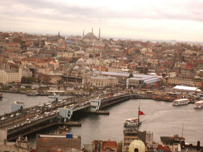 Istanbul City Galatakoprusu Galatatower