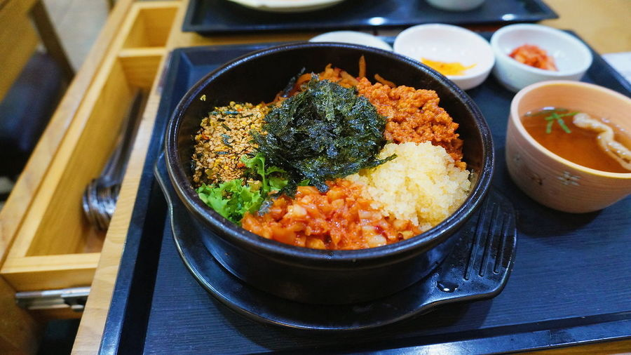 Food Bibimbab Healthy Eating Food And Drink Korean Food Bibimbup Korea Food Korean Culture Korean Food Culture Food Photography Foodtrip Food Closeup Food Culture