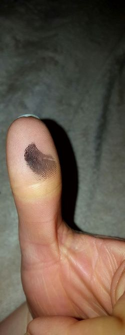 Human Body Part Close-up Thumb Thumbprint Closeup Photography