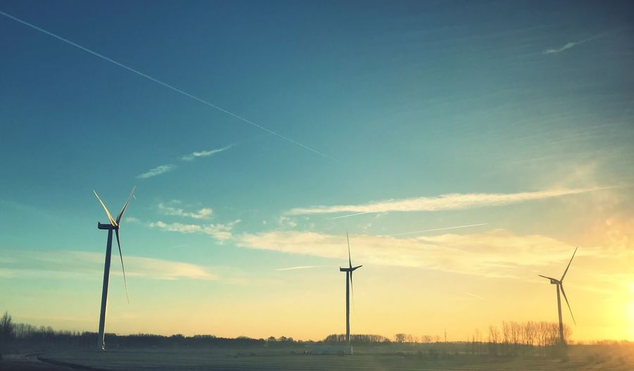 Windmills in