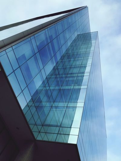 Architecture Built Structure Modern Low Angle View Building Exterior Skyscraper Tall Day No People Sky Outdoors City EyeEmNewHere
