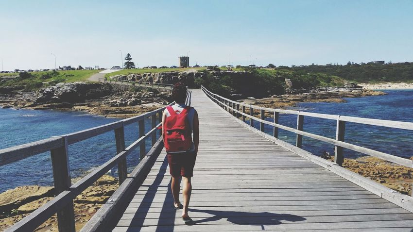 Walking Bridge Ocean La Perouse