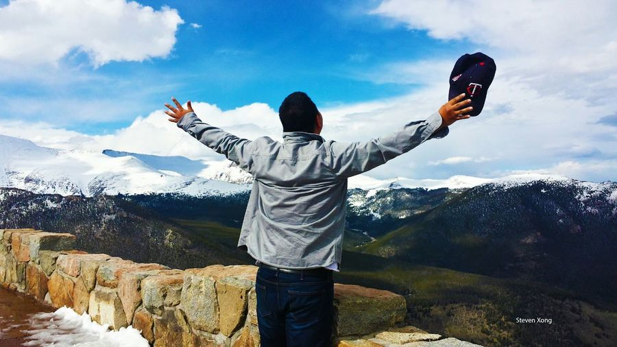 I believe I can Fly The World Is Mine Getting Inspired Amazing View Rocky Mountain National Park Sound Of Life Capturing Freedom Share Your Adventure The Great Outdoors - 2015 EyeEm Awards Reverse Selfie EyeEm Selects