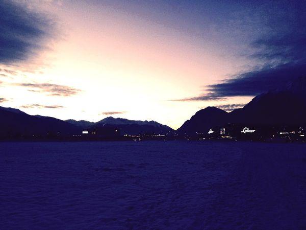 Sundown Sunset Winter