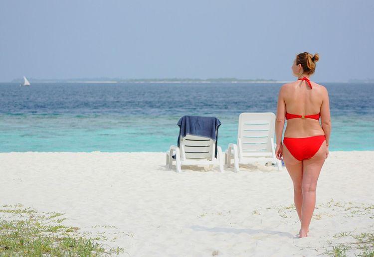 Maldives Beach Bikini Beachphotography Sea Sand Relaxing Still Life