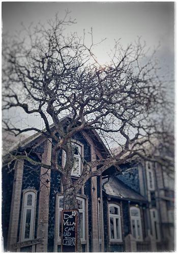Eigentlich ein Cafe aber beim falschen Wetter Horrorhouse Gruselfotos Horrorlover Houses And Homes