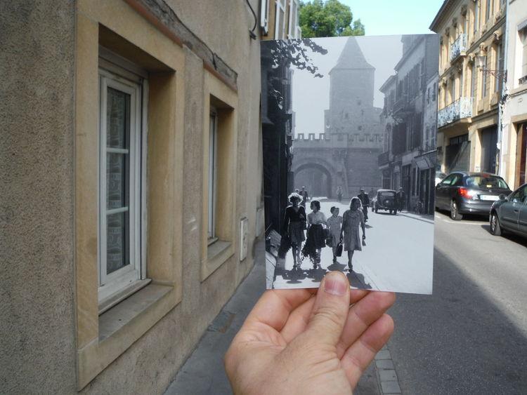 La porte des allemands Metz, France Patchwork