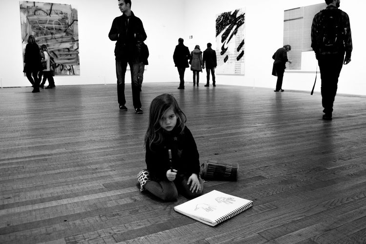 #art #blackandwhite #drawing #England #Gallery #hungry #interiors #Kid #london #museum #people #tate #tatemodern Front View Lifestyles Real People