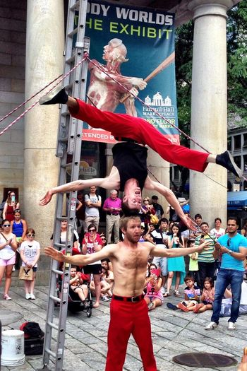 Capture The Moment The Red Trouser Show Fanueil Hall Market Boston Amazing Feats