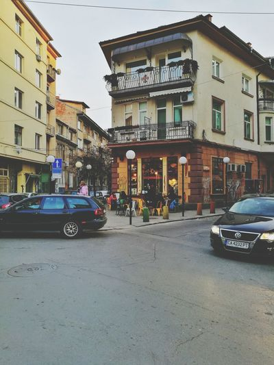 Lovely Sofia, Bulgaria Building Exterior Architecture City Built Structure Car Outdoors Streetphotography Emap Saturday City Cityscape Urbanphotography Cityscapes Citylights