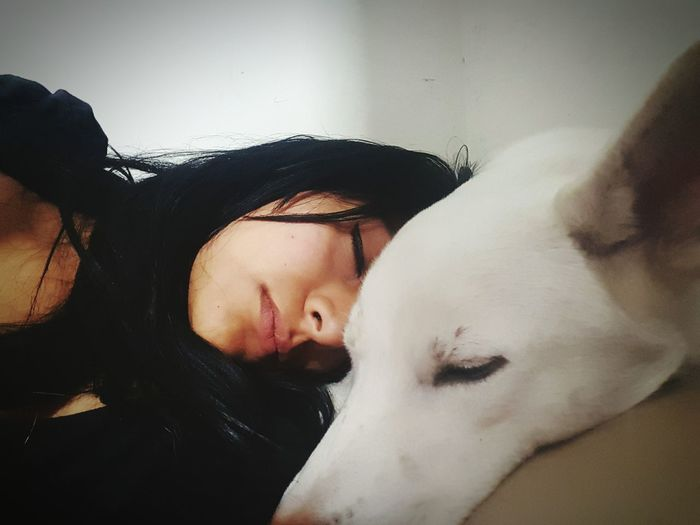 Black and white Cute♡ Dogslife Cutecute SelfieAgain Morena ❤ Prettygirl Selfie😎 Beauty One Person Dogs Of EyeEm Dog❤ Moments Of Life