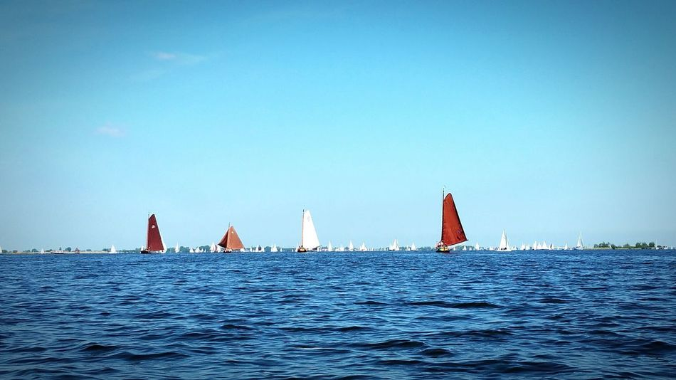 Rush hour at holiday on Heegermeer Taking Photos Enjoying Life Check This Out EyeEmbestshots Friesland Sailing Natural Beauty