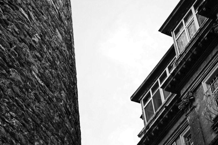 Galatakulesi Galatatower Stonebuilding Historical Building Black & White Black And White Sigma 70mm Ex Dg Galata