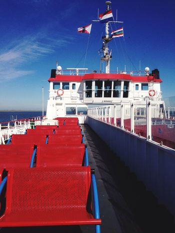 Empty ferry! - Ferryboat Sea And Sky Sea Boat Leave Travel Embark Sunny