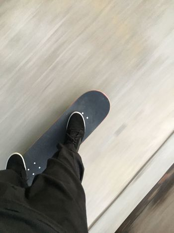 The feeling of a board beneath your feet is unmatched Skateboard Fast Fun The Best Skateboarding High Angle View Transportation