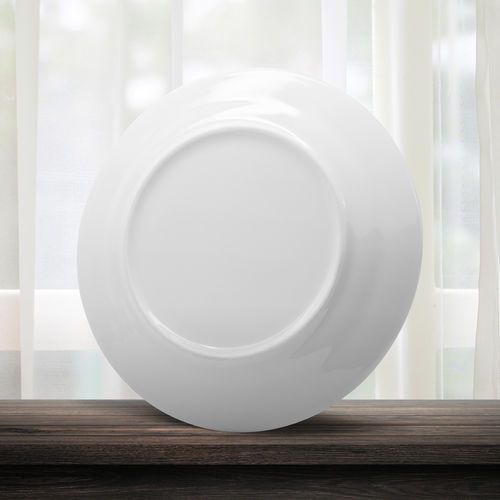 White dish or