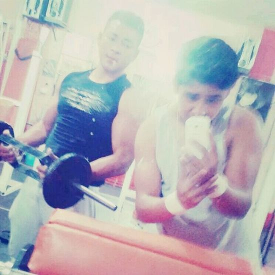 My friend and my in the Gim :3 One Year Tow Months I Love Forever Gim <3