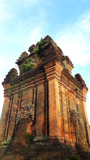 Architecture Built Structure History The Past Sky Building Exterior Ancient Old Ruin Place Of Worship Low Angle View No People Nature Plant Building Religion Travel Destinations Travel Cloud - Sky Old Outdoors