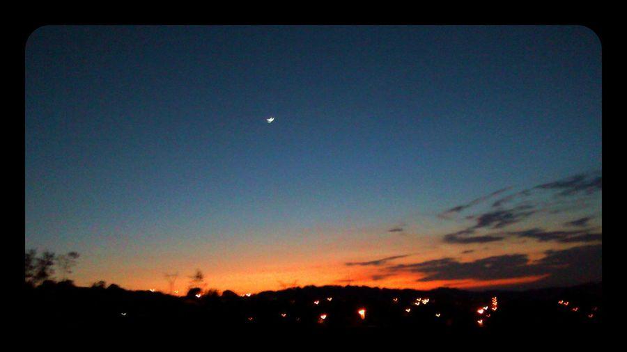 Goodnight Sunset #sun #clouds #skylovers #sky #nature #beautifulinnature #naturalbeauty #photography #landscape Sunset Puebla De Zaragoza