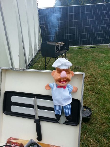 Swedish chef Dutch-oven Cooking