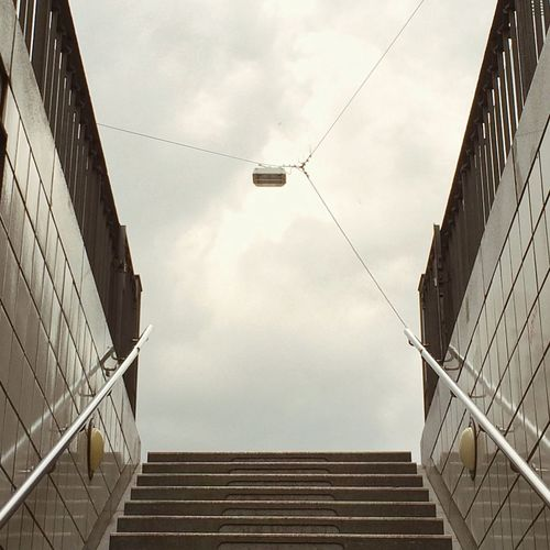 Sky and stairs