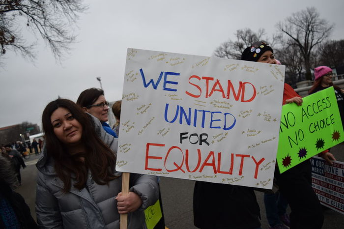 Hope Protest Protesters Sign Statement Women Women Who Inspire You Women's March