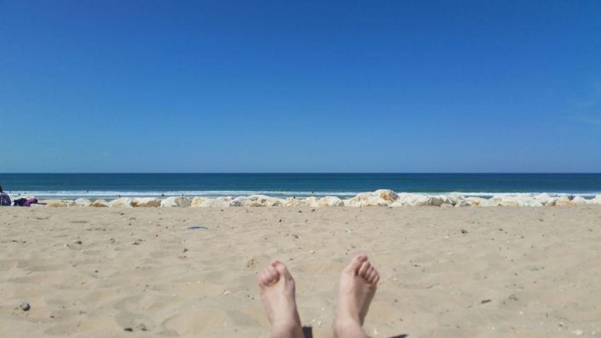Enjoying Life Relaxing Beach Life