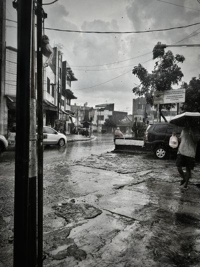 street at the rain Rain Streetrain INDONESIA Jamika