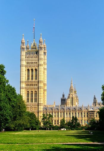 Victoria Tower Architecture Built Structure Building Exterior Travel Destinations Clear Sky Day Government Outdoors