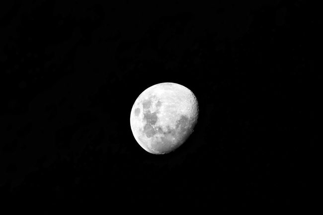 Beautiful moon Night Moon Astronomy Space Low Angle View Planetary Moon Sky Moon Surface Geometric Shape Copy Space Circle Beauty In Nature Shape No People Nature Scenics - Nature Tranquility Dark