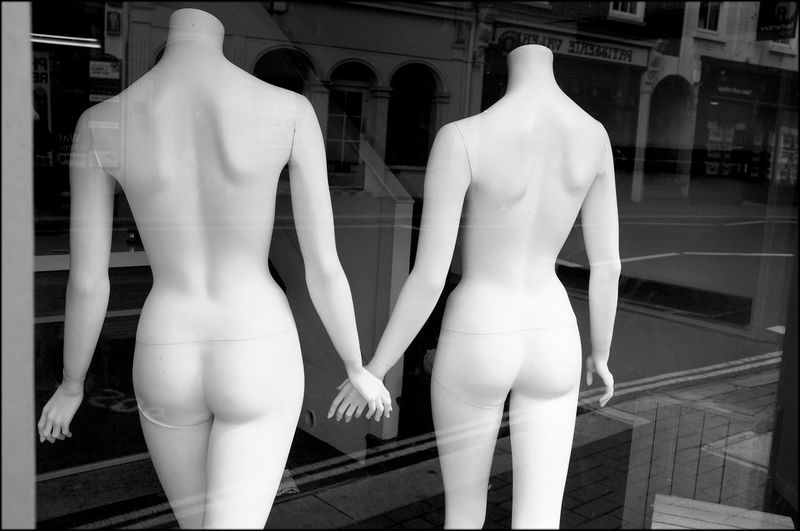 Mannequins Monochrome Street Photography