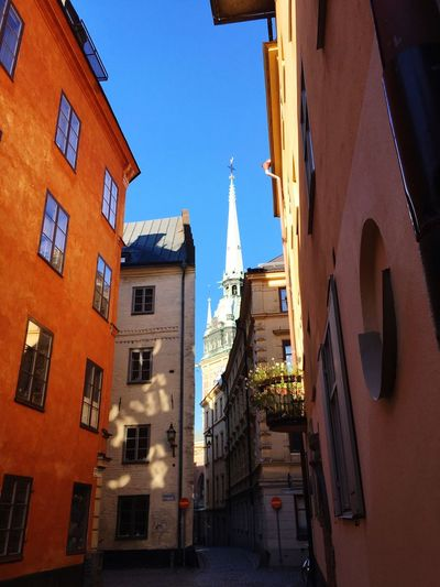 Old Town Stockholm Early Morning