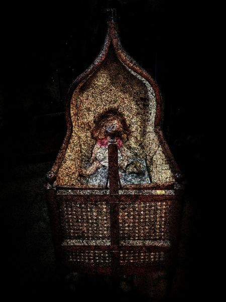 Lurking Black Surrealisticphotography Surreal Surrealism Abstractart Abstract Absurdist Abstractphotography Creepy Deviant Deviantart Old Strangethings Oddities Otherworldly Antique Odditiesofbeauty Odditiesandcuriosities Photoart Oddity Vintage Creepy Doll Creepy Atmoshpere Dark Black Background Night One Person People Close-up Galaxy