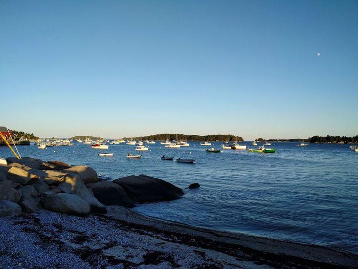Boats Water Tranquil Scene Scenics Beach Sea Tranquility Coastal Life Deer Isle Stonington Maine