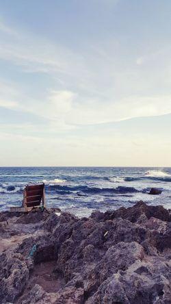 Beach Water Sea Ocean Cloud Sky Beauty In Nature Outdoors Nature 墾丁白沙灣 隨拍 First Eyeem Photo