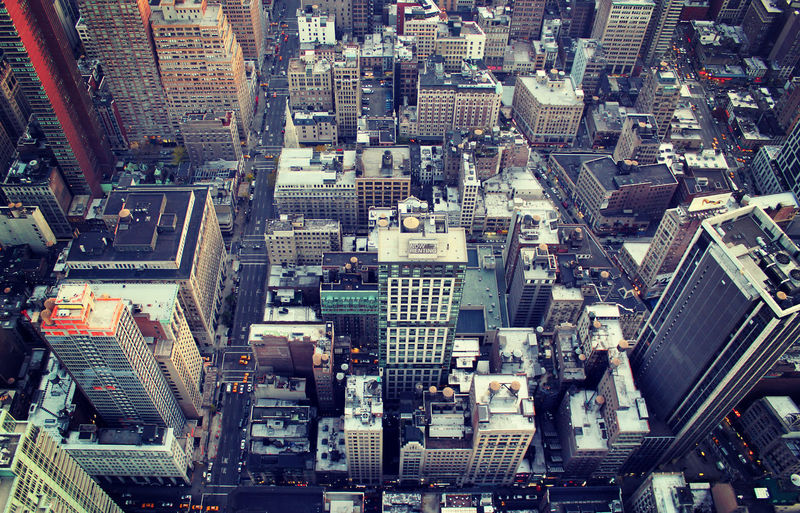Don't look down Aerial View Architecture Building Exterior Built Structure City Cityscape Crowded Day Downtown High Angle View Modern Outdoors People Skyline Skyscraper Tall Tower Travel Destinations Vertigo Go Higher Adventures In The City