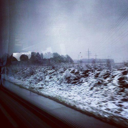 Schnee Hessen Busfahrt