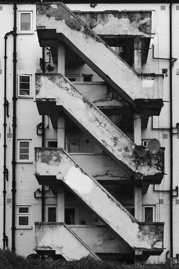 Urban Decay Urban Urban Decay Malephotographerofthemonth Atmospheric Mood Alucyart Full Frame Spiral Staircase Steps And Staircases Architecture Building Exterior Built Structure Close-up Residential Structure